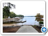 The boat launch at Timber Peg Lodge by Lake Norman Luxury Rentals