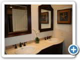 Bathroom at Luxury On The Lake by Lake Norman Luxury Rentals